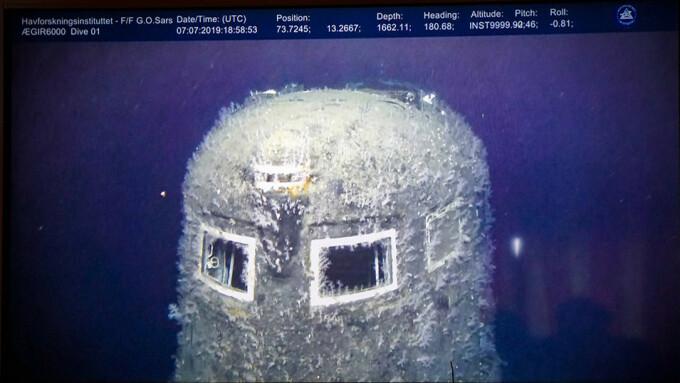 Submarinul nuclear Komsomoleţ