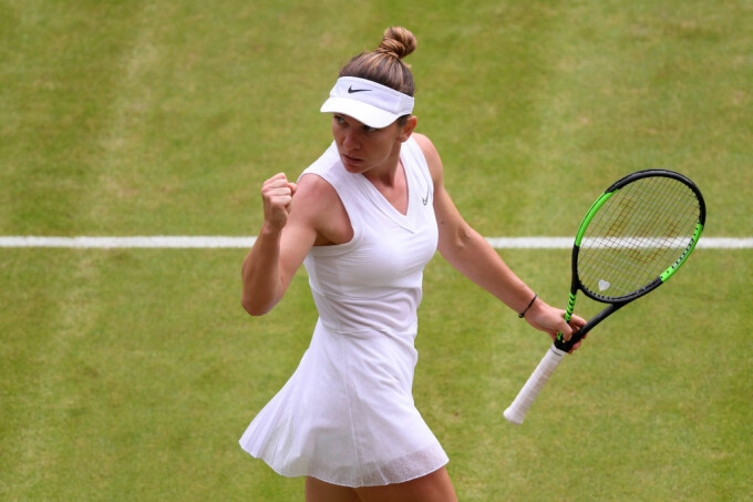 Simona Halep la Wimbledon - 2