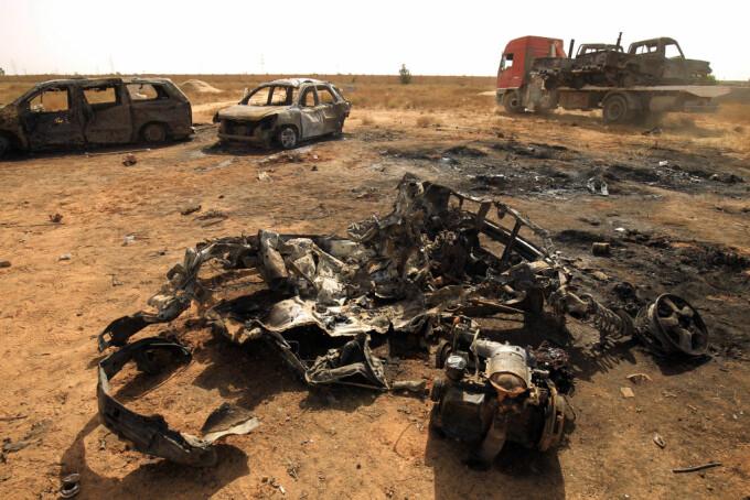 atentat libia