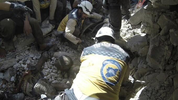 bombardament in Idlib