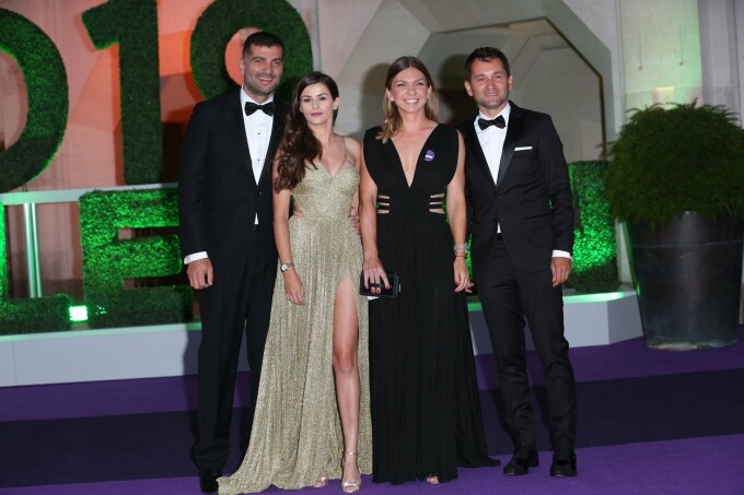 Simona Halep la Balul Campionilor de la Wimbledon, după victoria din finală - 12