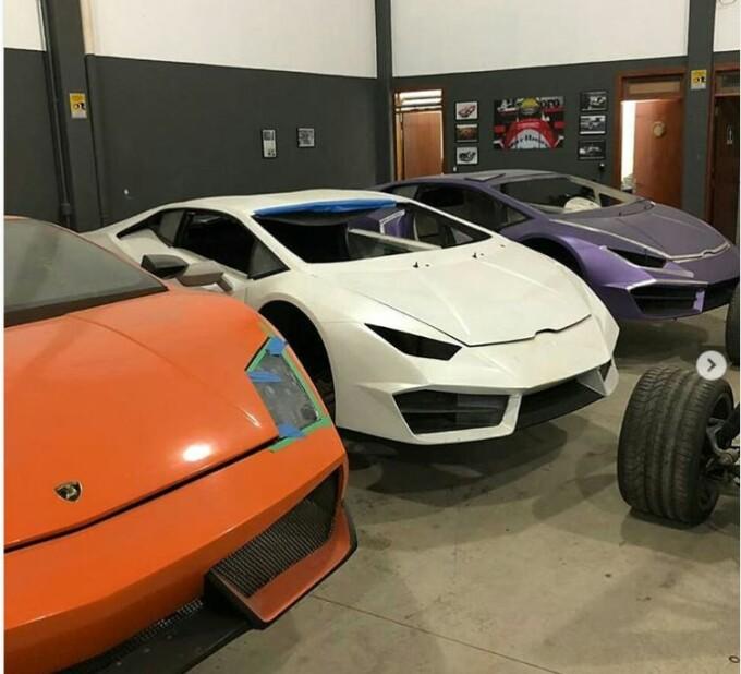 Ferrari si Lamborghini false