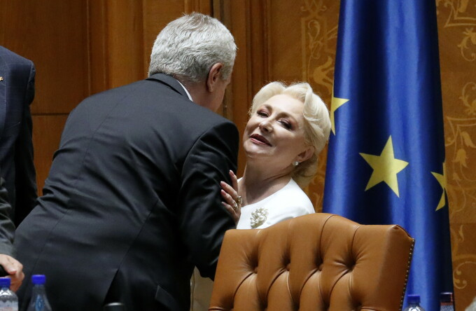Calin Popescu Tariceanu, Viorica Dancila