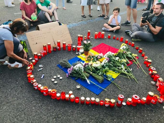 Protest Piata Victoriei - 5