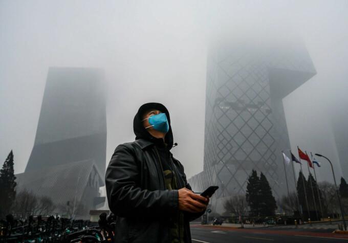 50.000 de decese în China din cauza poluării, în 2020 - 2