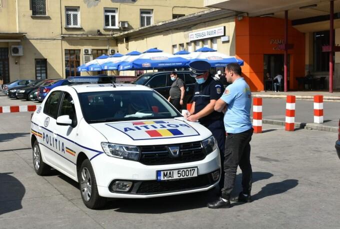 politisti taxi gara de nord
