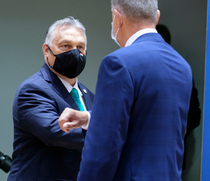 Viktor Orban și Klaus Iohannis