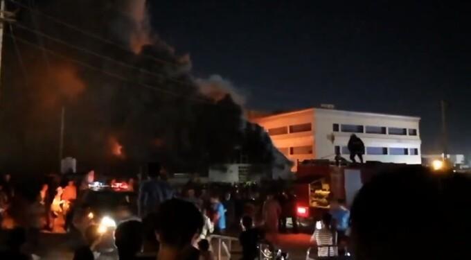 incendiu Irak