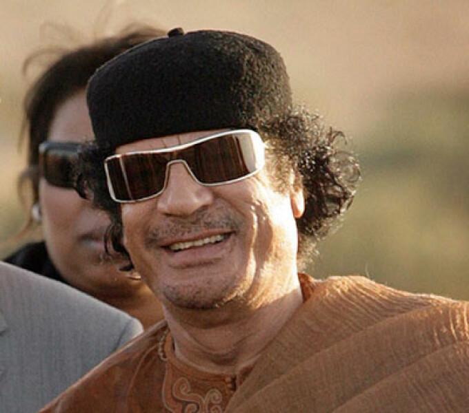 Moamar Ghaddafi