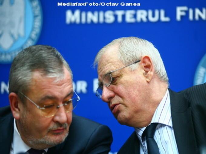 Ministrii Sebastian Vladescu si Mihai Seitan