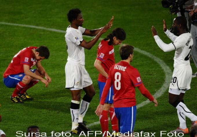 Serbia - Ghana - CM 2010