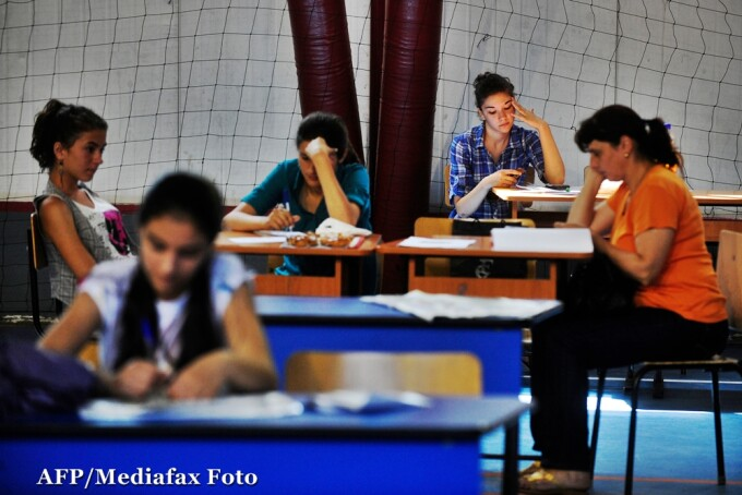 elevi in clasa, bacalaureat, evaluarea nationala