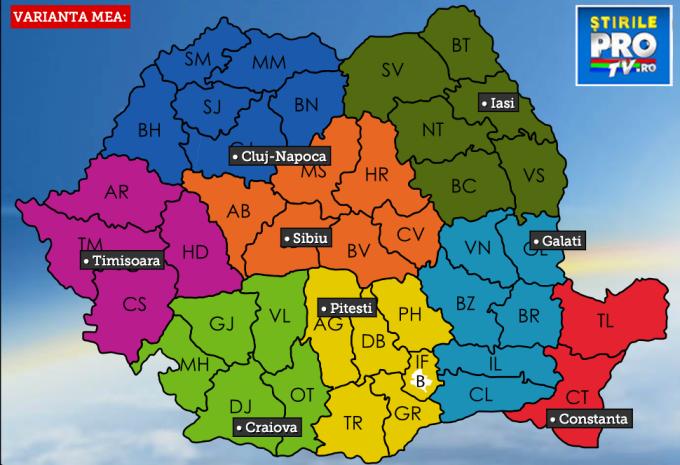 Reinventeaza Romania Arata Le Ce Iti Doresti De La Regionalizare