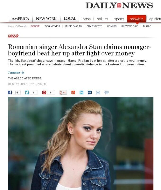 ny daily news alexandra stan