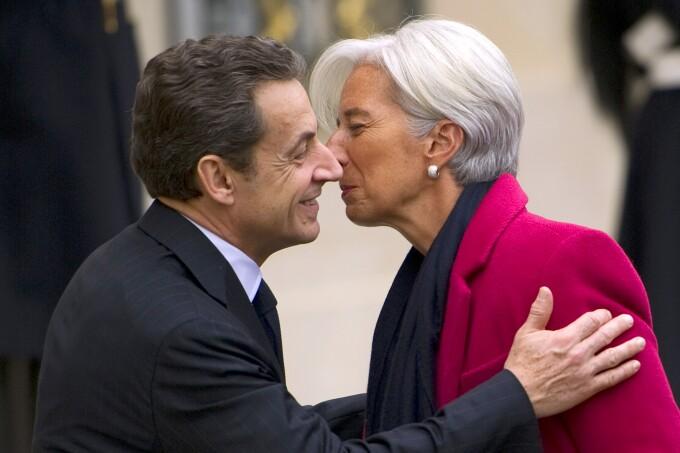 Lagarde, Sarkozy