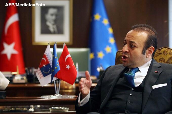Ministrul turc de Externe Egemen Bagis