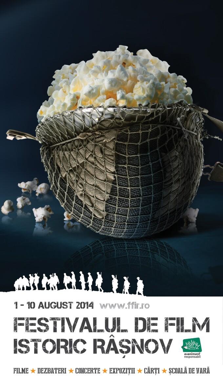 Festival de Film Istoric la Cetatea Rasnov. 40 de filme documentare si de fictiune, intre 1 si 10 august 2014