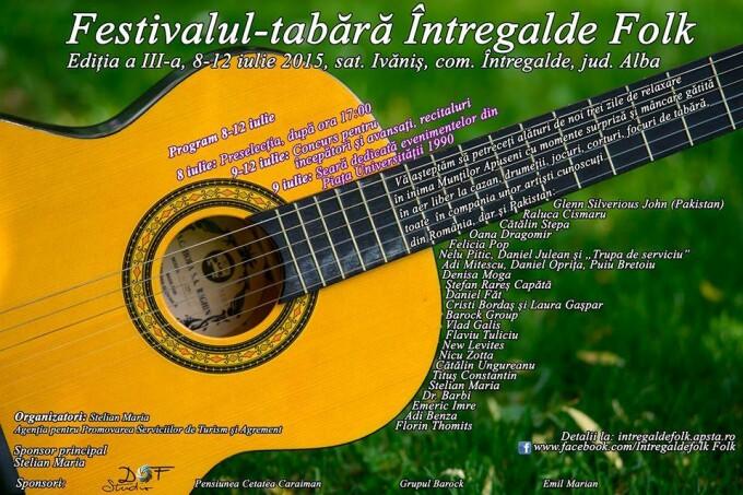 Festivalul Intregalde Folk din Alba aniverseaza 25 de ani de la evenimentele din Piata Universitatii
