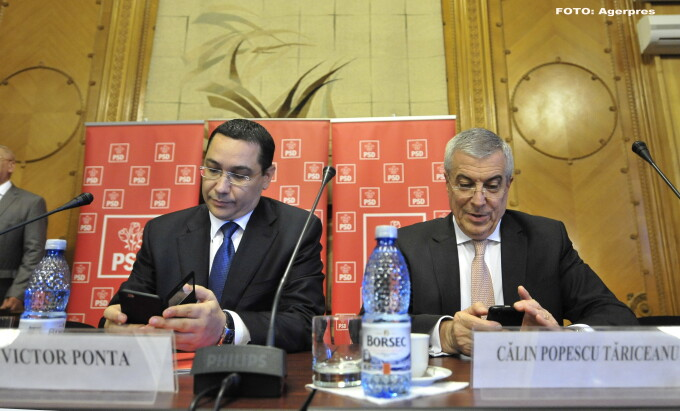 Victor Ponta, Calin Popescu Tariceanu - AGERPRES
