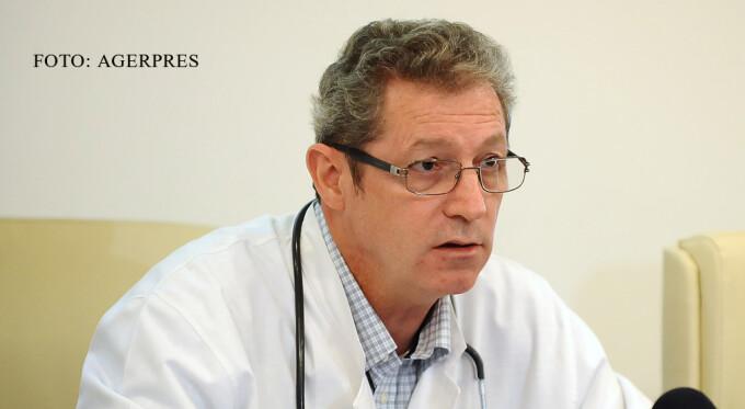 Managerul Institutului de Boli Infectioase 'Matei Bals', prof.dr. Adrian Streinu Cercel FOTO AGERPRES