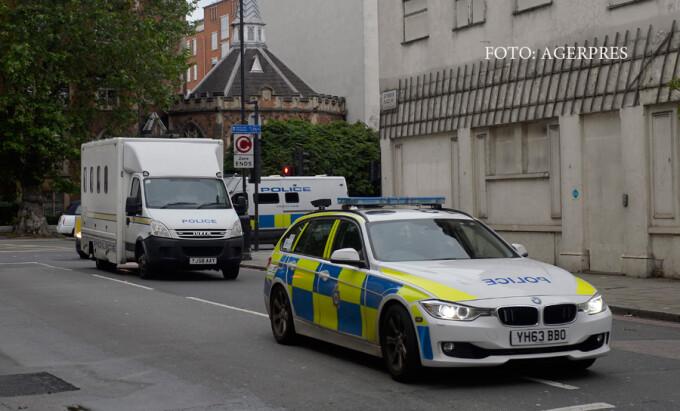 coloana a politiei, suspect crima Jo Cox