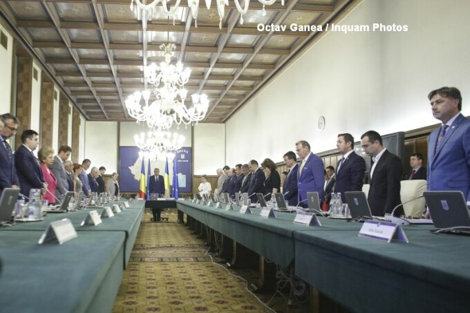 Sedinta Guvern Mihai Tudose