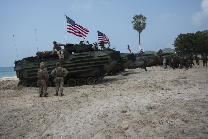 Trupe americane in Coreea de SUd