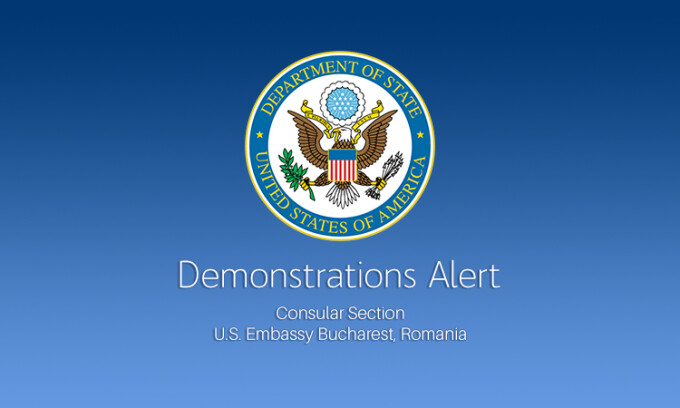 alerta Ambasada SUA