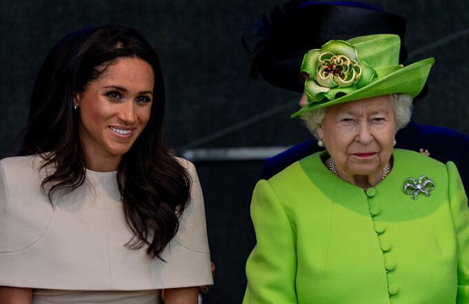 Meghan Markle, Regina Elisabeta a II-a