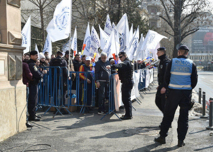 proteste la ministerul Muncii