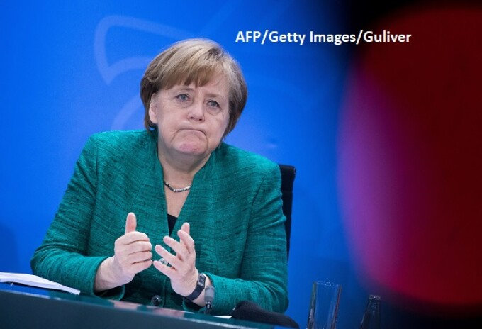 Angela Merkel - AFP/Getty