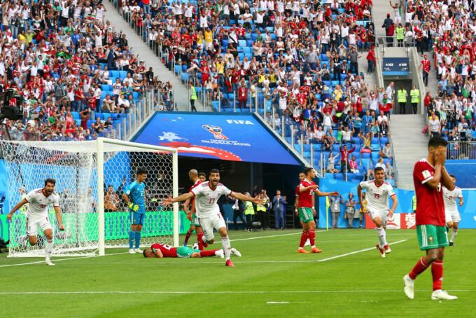 iran maroc cupa mondiala 2018