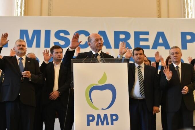Traian Basescu la congresul PMP