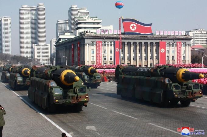 rachete nord-coreene Hwasong-12