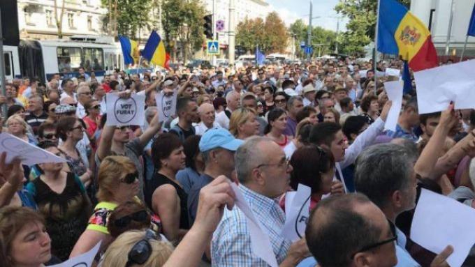 proteste Chișinău