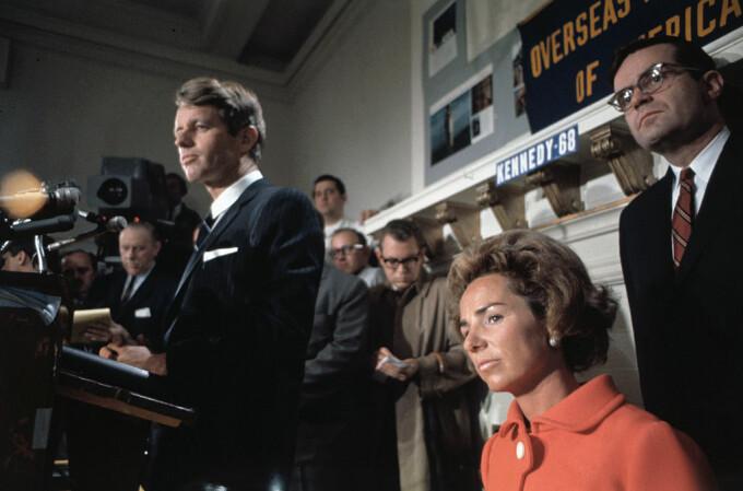 Ethel si Bobby Kennedy