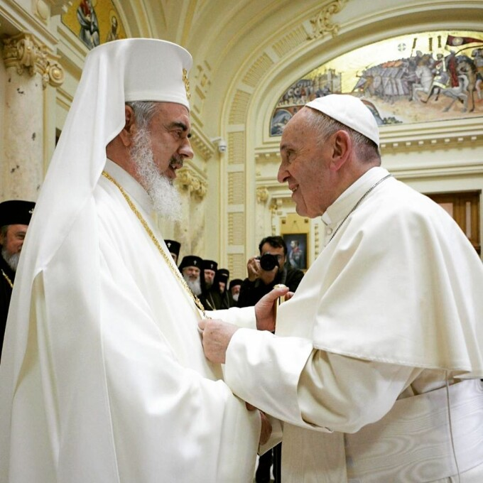 Vizita Papei Francisc in Romania, imagini de pe contul oficial de Instagram - 2