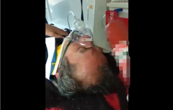 paramedic, pacient batjocorit