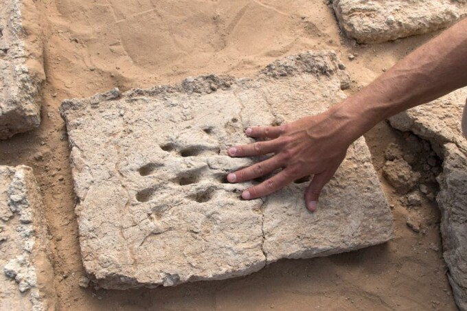 urme de degete in Abu Dhabi