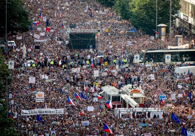 proteste Praga