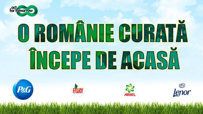 Procter & Gamble România, O Românie Curată Începe de Acasă