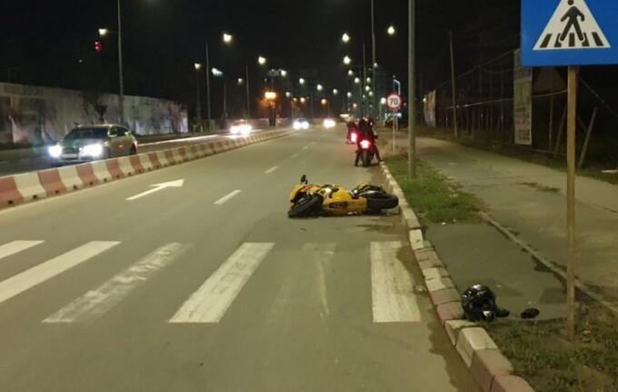 Polițistă rănită de un motociclist beat, la Năvodari