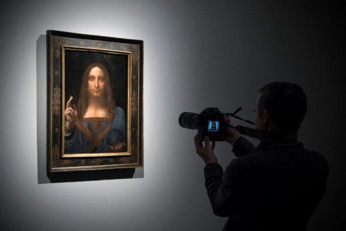 """Salvator Mundi"", atribuită lui Leonardo Da Vinci"