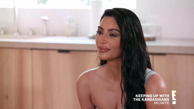 Kim Kardashian, surprinsă în aceeași ținută provocatoare, de două ori într-o săptămână. FOTO - 6