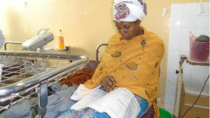 Povestea femeii care a dat un examen important, la numai 30 de minute după ce a născut