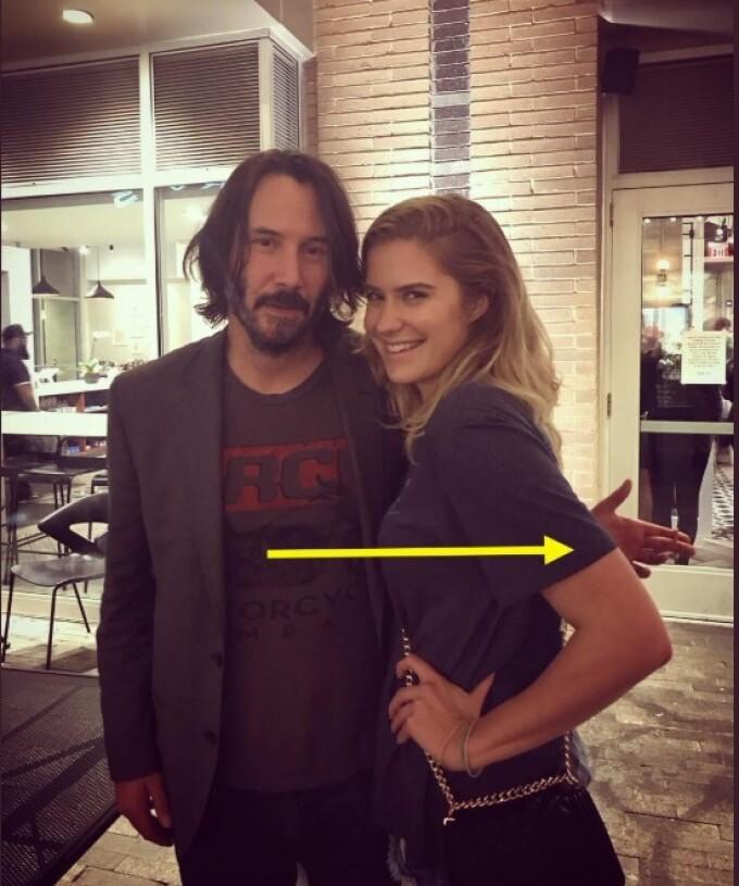 Keanu Reeves, în centrul atenției, din cauza modului în care se pozează cu femeile - 4