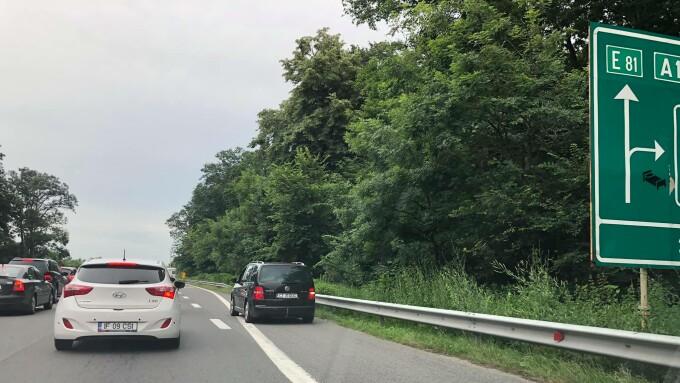 trafic A1