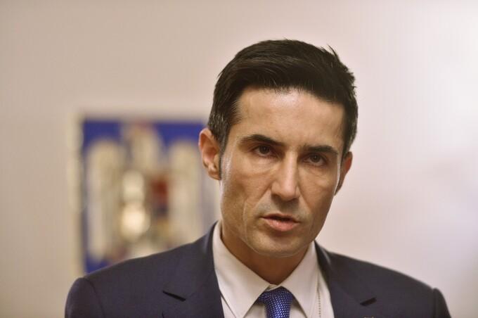 Claudiu Manda, presedintele Comisiei parlamentare de control a activitatii SRI