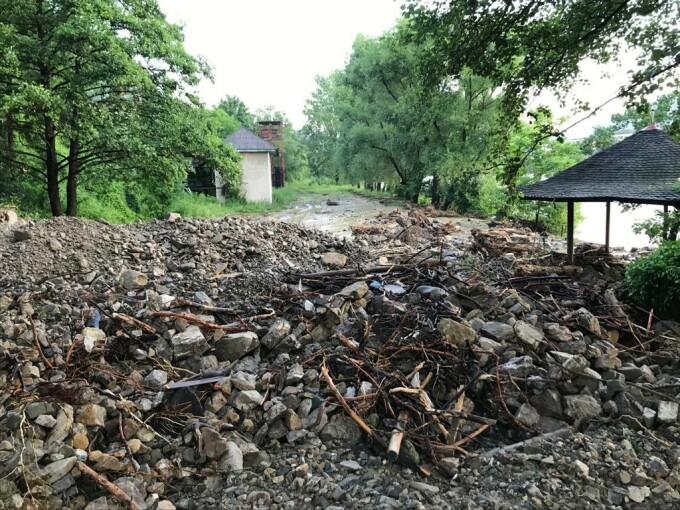 Intervenție de amploare a pompierilor în 21 de localități grav afectate de inundații. - 18