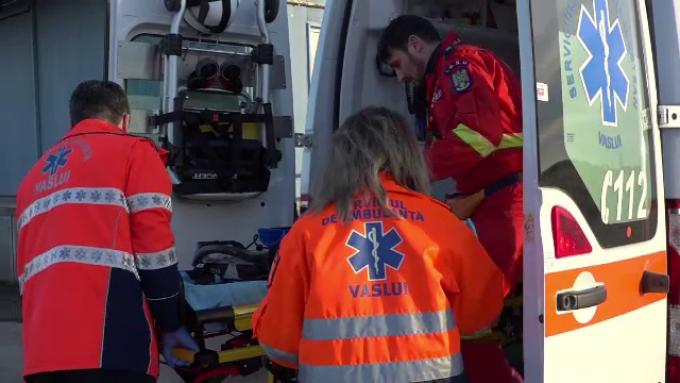 Accident cu 13 persoane implicate, în Caraș Severin
